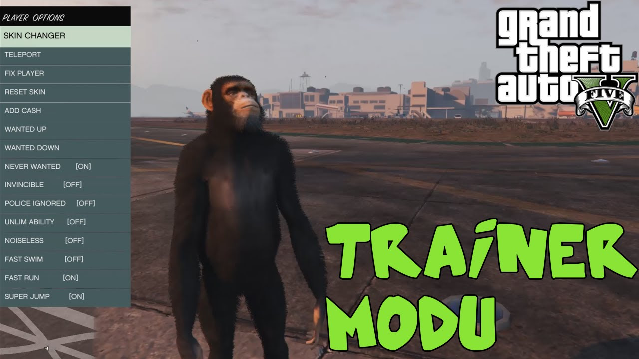 GTA V Modları - Trainer - Bölüm 1