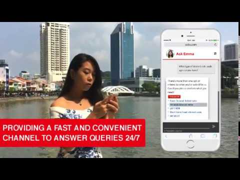 OCBC Bank launches first A.I. powered home and renovation loan specialist - YouTube