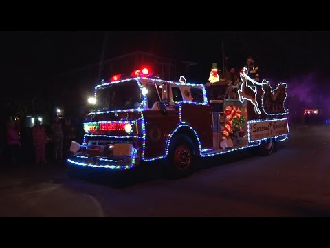 2016 Wallington,NJ Fire Department Holiday Parade  11/26/16