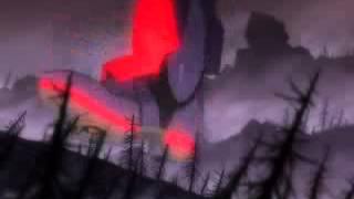 EVANGELION-EVA Unit 01 vs Angle type 10