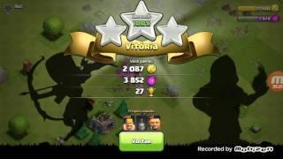 jogando clash of clans parte 2 #2