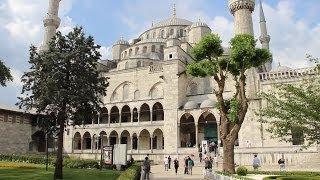 Голубая мечеть в Стамбуле(Голубая мечеть или Мечеть Султанахмет -- первая по величине и одна из самых красивейших мечетей Стамбула...., 2013-11-13T09:05:06.000Z)
