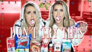 One of Ashly Schwan's most viewed videos: TRYING WEIRD CHRISTMAS FOODS WITH TANA MONGEAU