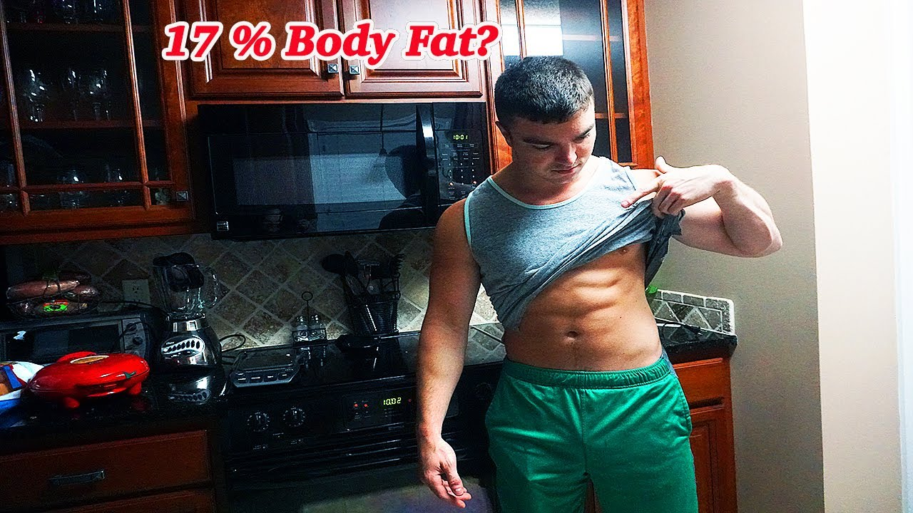 what 17 body fat looks like youtube