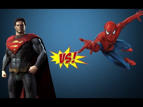 Spiderman vs Superman - EPIC BATTLE - Grand Theft Auto