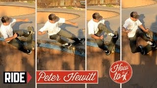 How-To Skateboarding: Rock Shuffle with Peter Hewitt