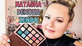 NATASHA DENONA ZENDO PALETTE First Impression & Review | 2 Looks | Highend Lidschatten im Test |