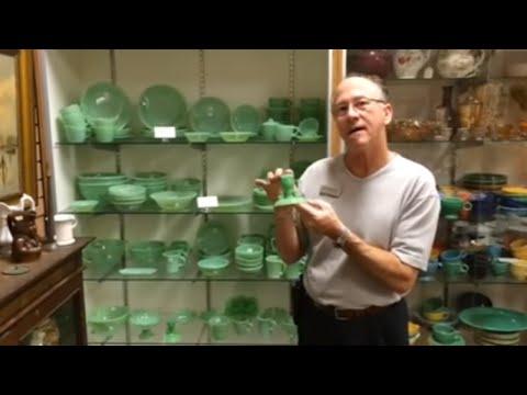 Fire king jadeite retro vintage green dishes