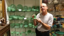 Fire king jadeite retro vintage green dishes