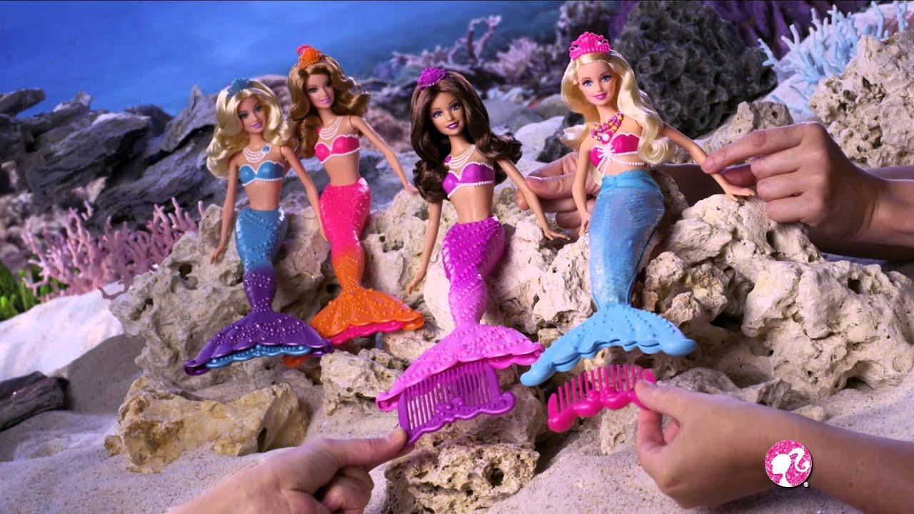 Barbie Zeemeermin Poppen Youtube