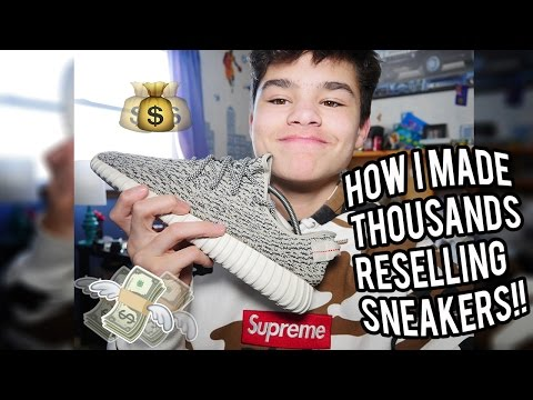 How I Made Thousands Reselling Sneakers!!!