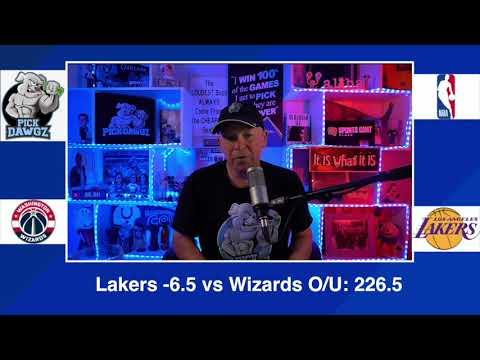 Los Angeles Lakers vs Washington Wizards 2/22/21 Free NBA Pick and Prediction NBA Betting Tips