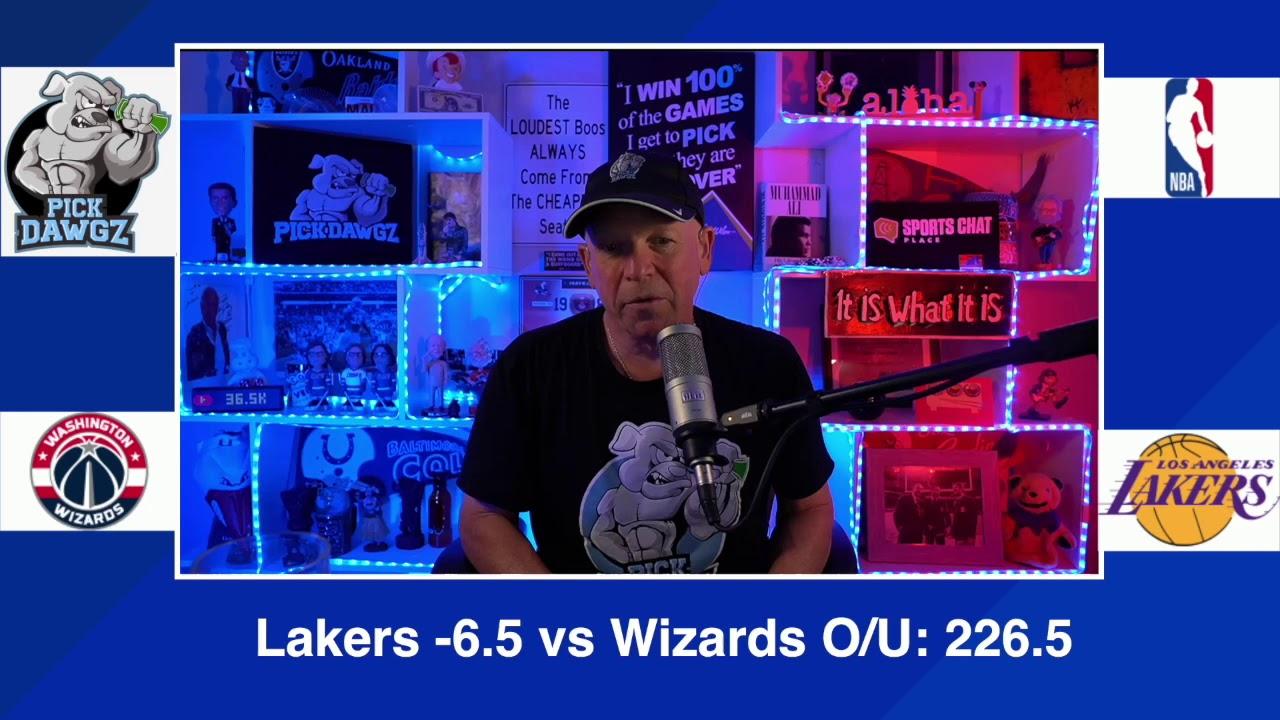 Los Angeles Lakers vs Washington Wizards 2/22/21 Free NBA Pick and  Prediction NBA Betting Tips - YouTube