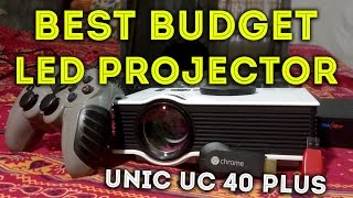 BEST BUDGET LED PROJECTOR YOU CAN BUY IN INDIA - UNIC UC 40 PLUS REVIEW(BEST BUDGET LED PROJECTOR YOU CAN BUY IN INDIA - UNIC UC 40 PLUS REVIEW Giveaway Link - https://goo.gl/n2HS5r Buy Now(Flipkart) ..., 2016-05-22T02:48:05.000Z)