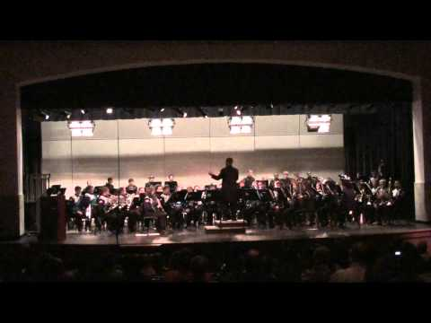 Rhapsody From the Low Countries performed by the Cox Mill High School Symphonic Band