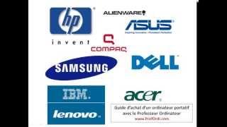 Quelle marque choisir lors de l'achat d'un ordinateur portatif - Guide d'achat