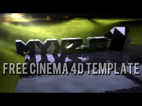 Free cinema 4D background template