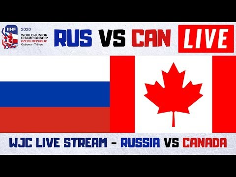 Russia Vs Canada World Juniors Live Stream | Preliminary Round | WJC Play By Play And Reactions