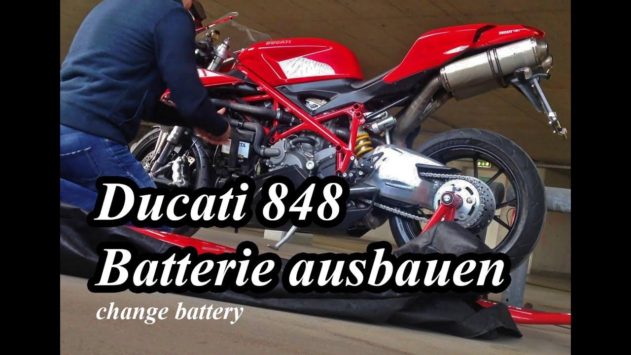 Ducati  Battery Location
