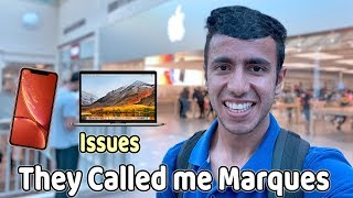 Gambar cover Apple Service Center Experience USA! They Called me Marques (MKBHD)