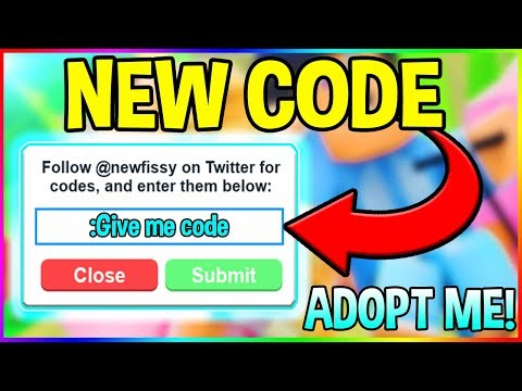 NEW ADOPT ME CODES (Working 2018) | Roblox Adopt Me