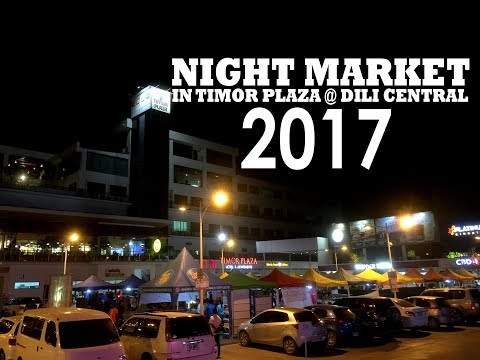 Night Market  Opening in Timor Plaza at Dili Central 24.08.17  Video Highlights