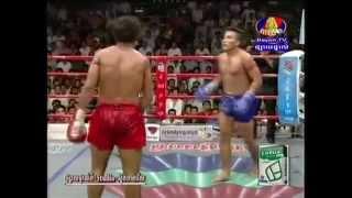 Khmer Boxing | Keo Romchong Vs Chan Ratana | កែវ រំចង់ VS ចាន់ រតនា 07-06-2013