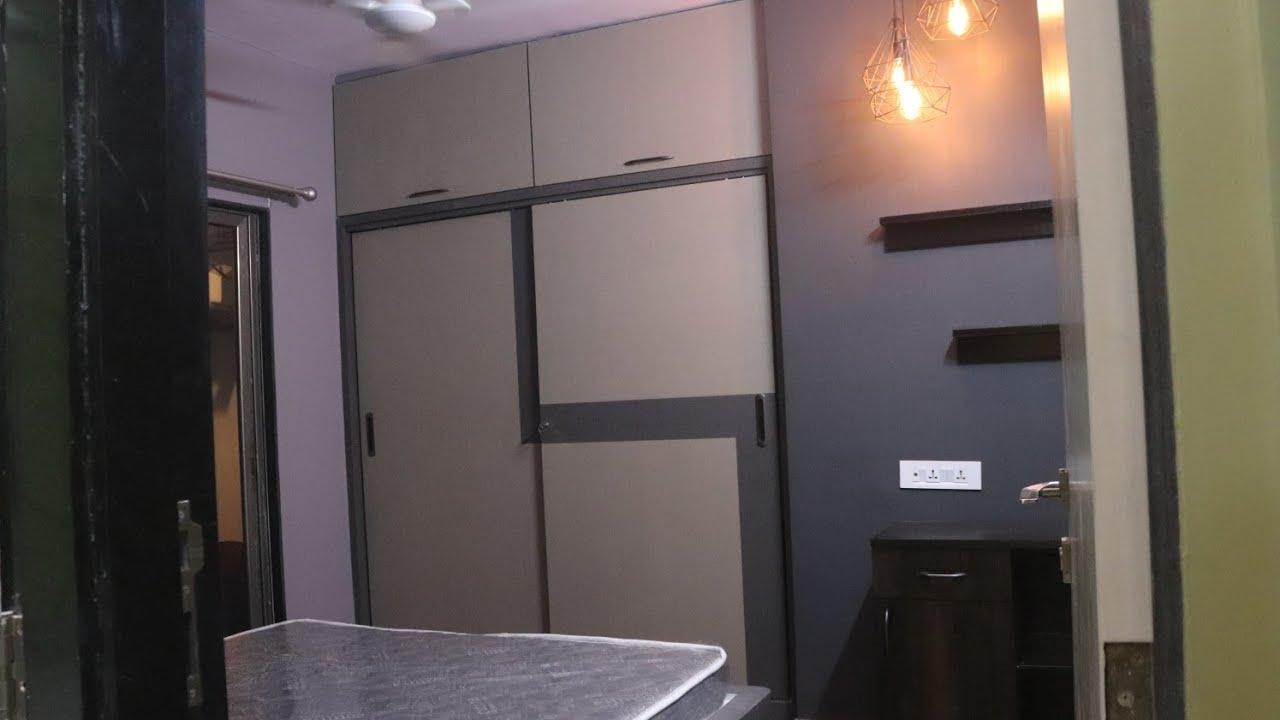 2 Bhk Mira Road Apartment Interior Design In Low Budget Mira Road Flat Interior 2bhk Interior 2020 Youtube