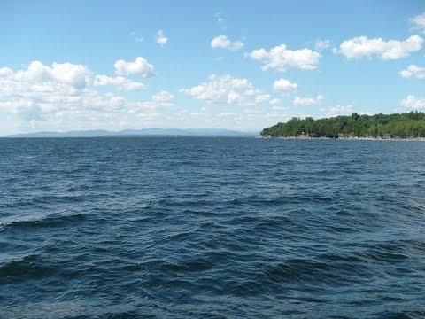 Lake Champlain Ferry from Burlington, Vermont