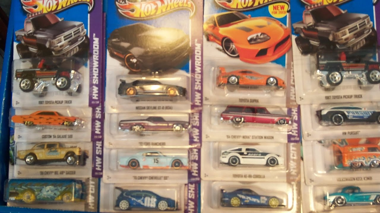 new 2013 hot wheels h case j case and k case diecast cars toy haul - Rare Hot Wheels Cars 2013