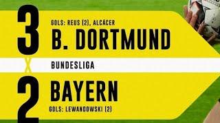 Borussia Dortmund x Bayern de Munique -melhores momentos - 3x2