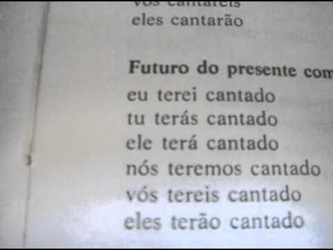 aula verbo cantar