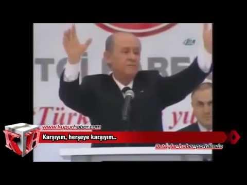 MHP Lideri Bahçeli'ye özel 'Karşıyım' klibi