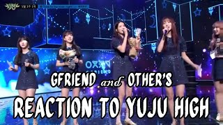 Download Video GFRIEND & Other's Reaction to Yuju High Note MP3 3GP MP4