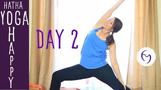 Day 2 - Hatha Yoga Happiness: Boosting Energy With Fightmaster Yoga