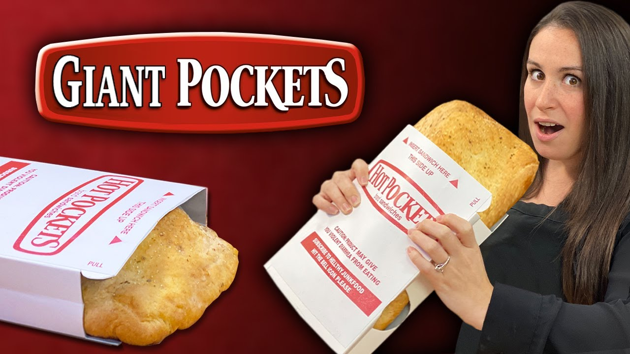 diy giant pizza hot pocket versus