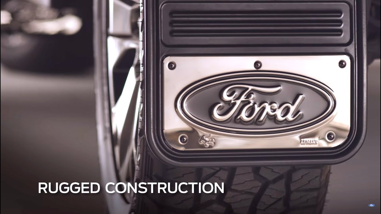 Ford rugged splash guards ford accessories