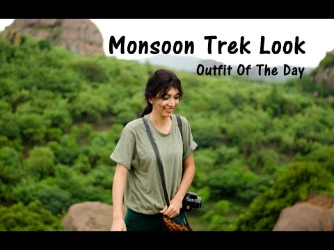 Ramanagaram - Karnataka - Monsoon Trek Look | Indian Youtuber