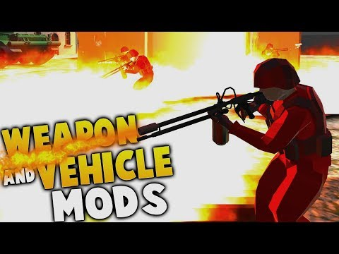 EPIC New Weapons, Vehicles & Maps - Ravenfield Modded Gameplay