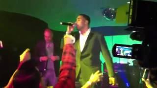 Don Omar & Juan Mangan cantando juntos en Miami Ella no sigue modas