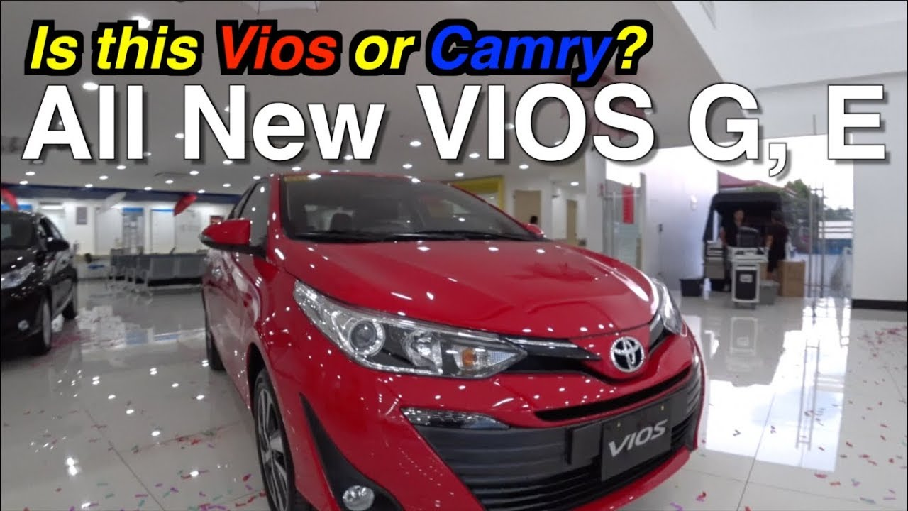2019 Toyota Vios G E Philippines Interior Exterior Comparing