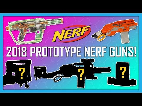 NEW 2018 Prototype Nerf Guns! Ghost Ops Evader, Survival System Scravenger!