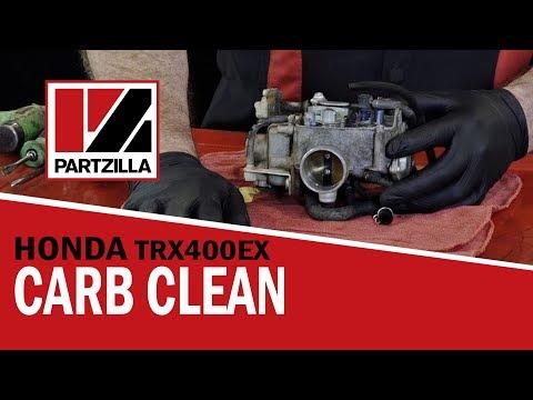 Honda 400EX ATV Carb Rebuild & Cleaning | Partzilla.com