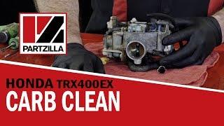 honda 400ex atv carb rebuild cleaning   partzilla com