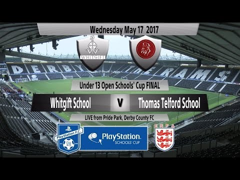 Full Match   Under 13 Open Schools' Cup   Whitgift School vs  Thomas Telford School