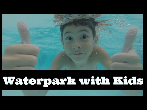 Underwater Waterpark Swimming | Water Slides | Lazy River