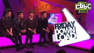 Union J - Interview on CBBC