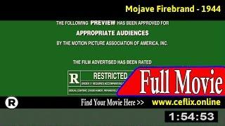 Mojave Firebrand (1944) Full Movie Online