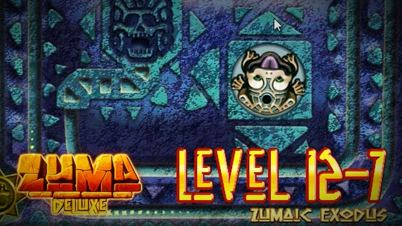 Zuma deluxe (pc) temple of zukulkan level 3-5 mirror serpent.