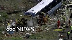 Death toll climbs in Greyhound bus crash